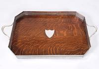 19th Century Country House Oak Serving Tray (6 of 9)