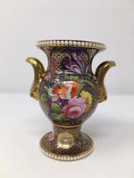 Stunning Antique Spode Vase Pattern 1166 c.1820 (4 of 14)