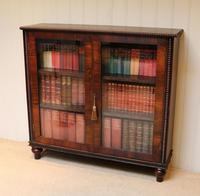 Victorian Rosewood Glazed Bookcase (6 of 10)