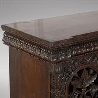 Highly Decorative Burmese 19th Century Three Door Cabinet (4 of 5)