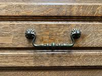 Stylish French Oak Chest of Drawers (15 of 18)