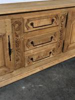 Superb Long French Oak Dresser Base (6 of 15)