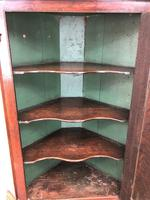 Antique Corner Cupboard with Drawer (4 of 10)