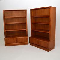 Pair of Danish Vintage Teak Bookcases by Dyrlund (10 of 12)