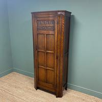 Quality Oak Antique Hall Cupboard / Wardrobe (3 of 7)