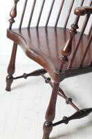 Victorian Scottish Darvel High Comb-backed Windsor Chair, Late 19th Century (19 of 31)