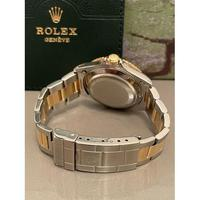 18ct Yellow Gold & Steel Rolex Submariner Blue Dial (5 of 6)