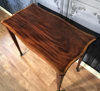 Edwardian Inlaid Mahogany Occasional Table (11 of 13)