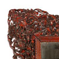 Chinese Red Cedar Framed Mirror (6 of 8)