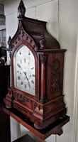 Mid 19th Century Musical Gothic Bracket Clock (4 of 9)