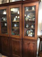 4 Door Mahogany Library Bookcase (6 of 10)