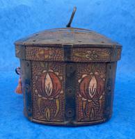 19th Century Arts And Crafts Scandinavian Birch Box (4 of 12)