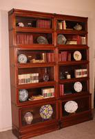 Pair of Globe Wernicke Mahogany Bookcases - 6 Elements (9 of 10)