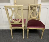 Set of 6 Harp Back French Dining Chairs (13 of 17)