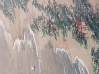 Three Japanese original ink/ watercolour lanscape paintings circa mid. 20th Century (7 of 20)