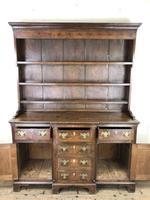 Antique 19th Century Oak Kitchen Dresser (5 of 9)