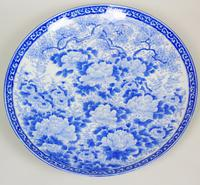 Good Large 19th Century Japanese Arita Ware Charger (3 of 7)