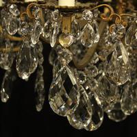 Italian Gilded Bronze 16 Light Antique Chandelier (8 of 10)