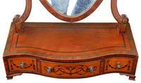 Georgian C1820 satinwood dressing table swing mirror (7 of 7)
