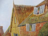Large oil on canvas English countryside view  Listed artist Richard Temple (Free shipping to Mainland England) (8 of 10)