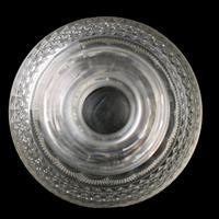 Georgian Triple Ring Neck Cut Glass Decanter (5 of 8)