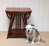 Small Arts & Crafts Walnut Table (3 of 8)