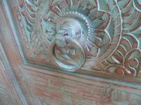 Handmade Indian Mango & Teak Large Painted Green 2 Door Storage Cupboard (10 of 12)