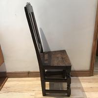 1680's Oak Pegged Chair (13 of 15)