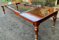 Victorian Mahogany Extending Dining Table with 3 Leaves seats 12 (8 of 8)