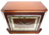 Smiths Art Deco Mantel Clock Triple Chime 8 Day Westminster Chime Mantle Clock. (5 of 8)