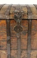 Large Early 17th Century Iron Bound Chest (7 of 22)