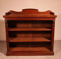 Open Bookcase in Mahogany 19th Century - England (2 of 9)