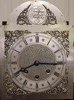 Westminster Chime Mahogany Grandmother Clock (6 of 12)