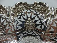 Antique Victorian Silver Dish Sheffield 1897 (2 of 5)