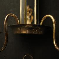 English Set of 4 Art Deco Brass Wall Lights (9 of 10)