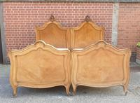 Pair of French Walnut Single Beds (13 of 17)