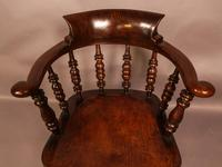 Harlequin Set of 6 Victorian Captains Chairs (9 of 10)