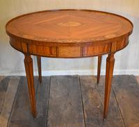 Fine Dutch Inlaid Satinwood Centre Table