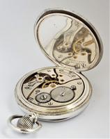 1930 Swiss Silver Pocket Watch (3 of 5)