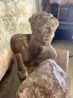 Large Terracotta Sculpture by Émile Grégoire (8 of 10)