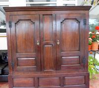Country Oak Press Cupboard 1730 (3 of 10)