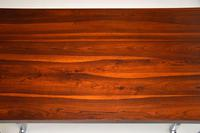 1970's Vintage Rosewood & Chrome Dining Table by Pieff (6 of 8)