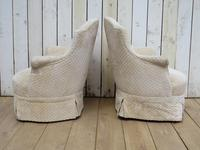 Pair of Antique French Tub Armchairs (5 of 9)