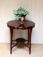 Inlaid Mahogany Circular Table (5 of 12)