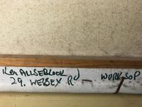 Oil Painting Railway Train Engine Princess Margaret 4056 Signed Ken Allsebrook (30 of 30)