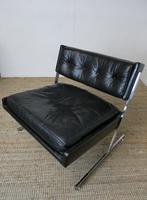 1960s Chrome & Leather Chair (2 of 12)