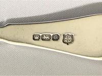 Pretty Edwardian Silver Preserve Spoon (2 of 5)