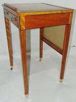 Georgian Satinwood Ladies Writing Table (7 of 8)