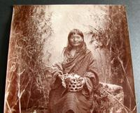 Photograph of The Witch of Ghoom by Fred Ahrle c.1896 (2 of 4)