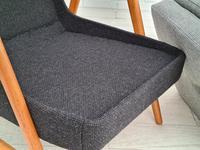 Danish Design, 60s, Completely Restored Armchair, Furniture Wool (11 of 16)
